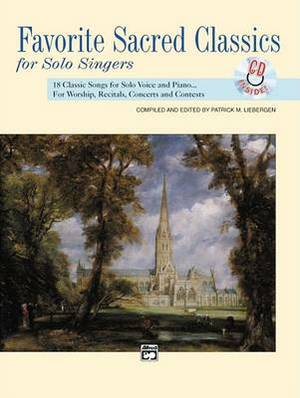 Favorite Sacred Classics for Solo Singers: Medium High Voice, Comb Bound Book & CD