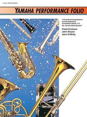 Yamaha Performance Folio: Percussion