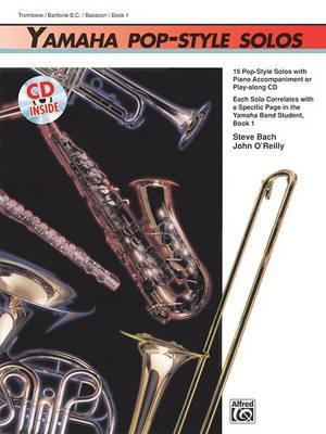 Yamaha Pop-Style Solos: Trombone/Baritone B.C./Bassoon, Book & CD
