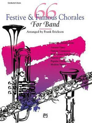 66 Festive & Famous Chorales for Band  : 3rd Clarinet