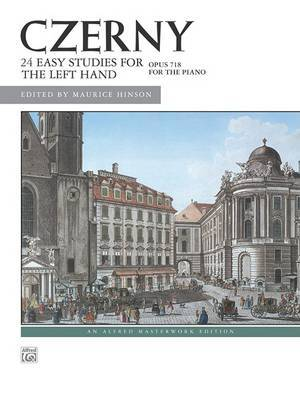 Czerny -- 24 Studies for the Left Hand, Op. 718: Left Hand Alone