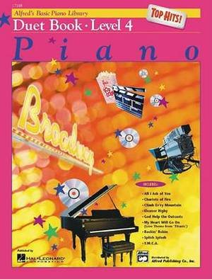 Alfred's Basic Piano Library Top Hits! Duet Book, Bk 4