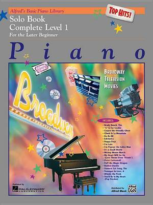 Alfred's Basic Piano Library Top Hits! Solo Book Complete, Bk 1