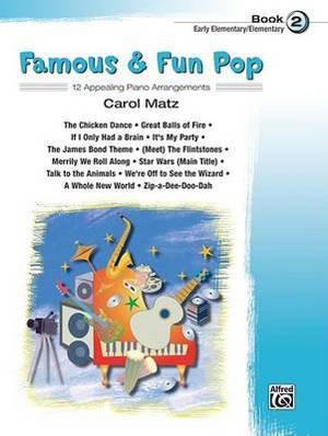 Famous & Fun Pop, Bk 2