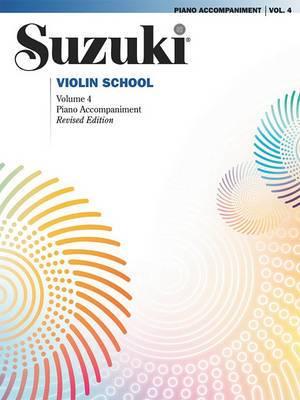 Suzuki Violin School, Volume 4: Piano Accompaniment