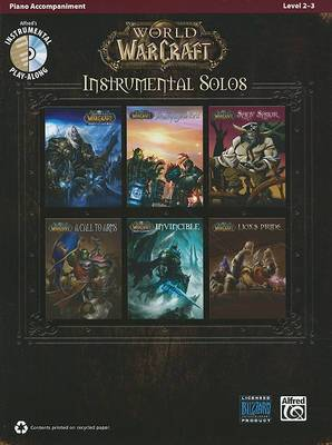 World of Warcraft Instrumental Solos: Piano Accompaniment: Level 2-3