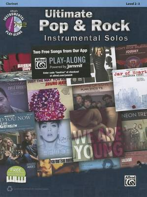 Ultimate Pop & Rock Instrumental Solos: Clarinet, Book & CD