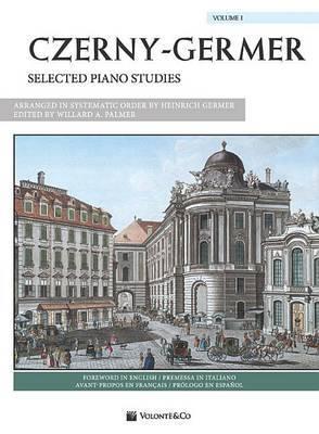 Czerny-Germer -- Selected Piano Studies, Vol 1: Spanish / French / Italian Language Edition