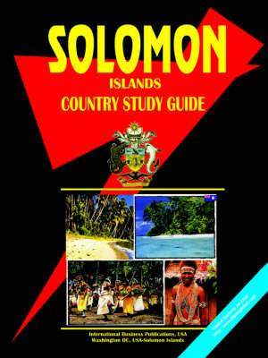 Solomon Islands Country Study Guide