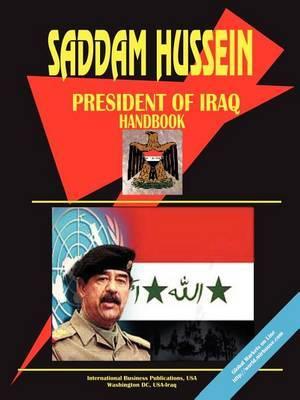 Iraq President Suddam Hussein Handbook