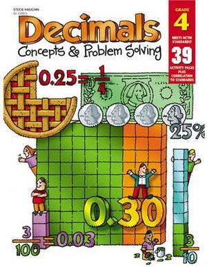 Decimals: Concepts & Problem Solving Gr4