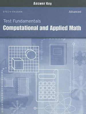 Test Fundamentals: Computational and Applied Math Answer Key: Advnaced
