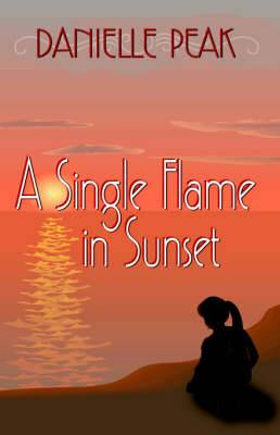 A Single Flame in Sunset