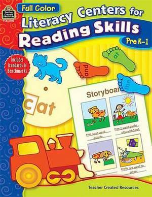 Literacy Centers for Reading Skills Pre K-1