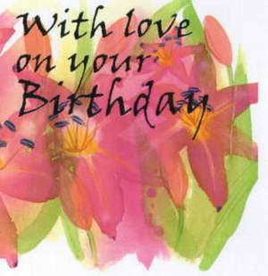 With Love on Your Birthday