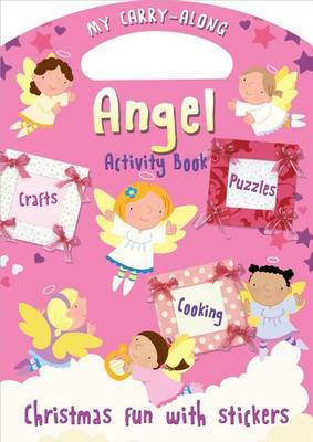 My Carry-Along Angel Activity Book: Christmas Fun with Stickers