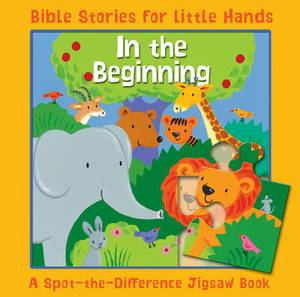 In the Beginning: A Spot-the-Difference Jigsaw Book