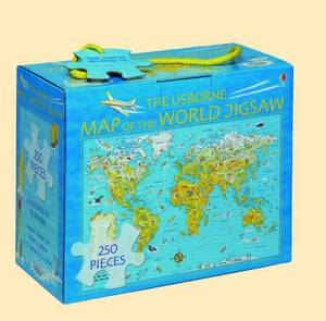 Map of the World Boxed Jigsaw