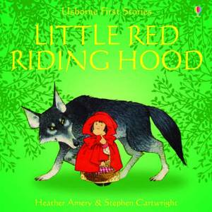 Usborne Fairytale Sticker Stories Little Red Riding Hood