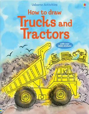How To Draw: Trucks And Tractors