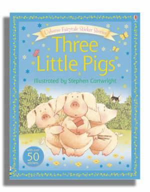 Usborne Fairytale Sticker Stories The Three Little Pigs