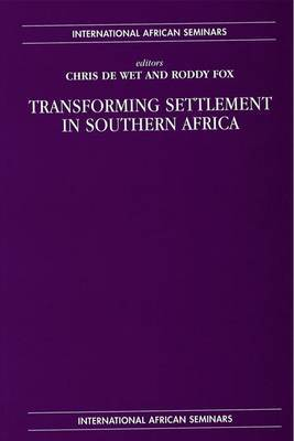 Transforming Settlement in Southern Africa