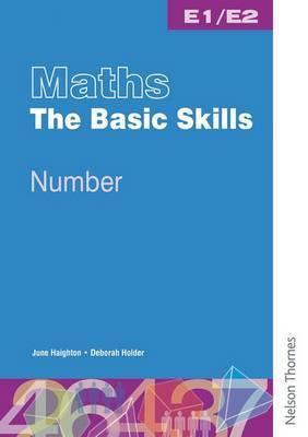 Maths the Basic Skills Number Worksheet Pack E1/E2