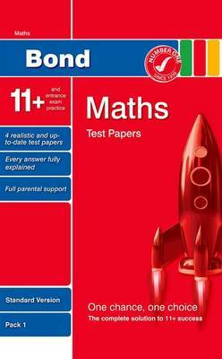 Bond 11+ Test Papers Maths Standard Pack 1