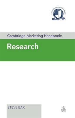 Cambridge Marketing Handbook: Research