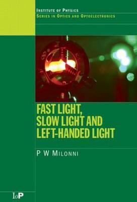 Fast Light, Slow Light and Left Handed Light