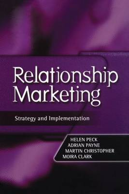 Relationship Marketing: Text and Cases