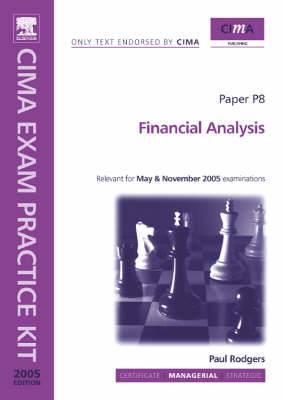 Financial Analysis: 2005: Paper P8
