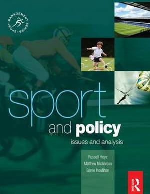 Sport and Policy: Issues and Analysis