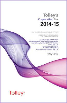 Tolley's Corporation Tax 2014-15 Main Annual