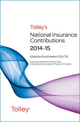 Tolley's National Insurance Contributions 2014-15 Main Annual