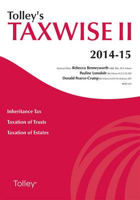 Tolley's Taxwise II: 2014-15
