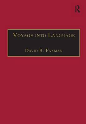 Voyage into Language: Space and the Linguistic Encounter, 1500-1800