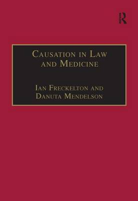 Causation in Law and Medicine