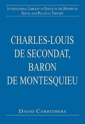 Charles-Louis de Secondat, Baron de Montesquieu