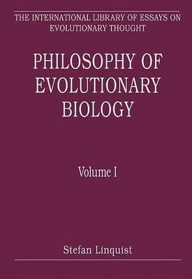 Philosophy of Evolutionary Biology: Volume I