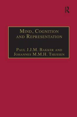 Mind, Cognition and Representation: The Tradition of Commentaries on Aristotle's  De Anima