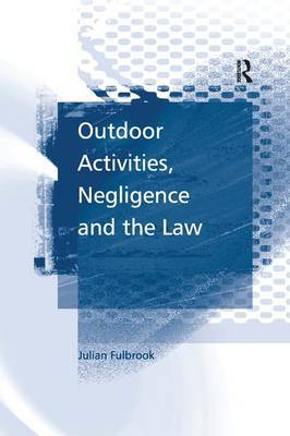 Outdoor Activities, Negligence and the Law