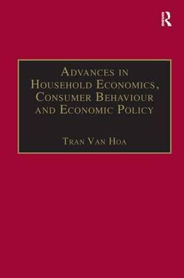 Advances in Household Economics, Consumer Behaviour and Economic Policy