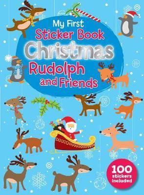 My First Christmas Sticker Book - Rudloph and Friends