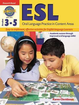 Rigby Best Teacher's Press: Reproducible ESL Oral Language Practice in Content Areas