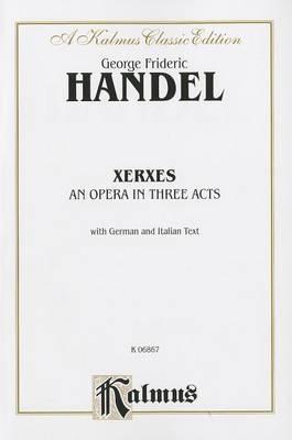 Xerxes: Vocal Score (German, Italian Language Edition), Vocal Score