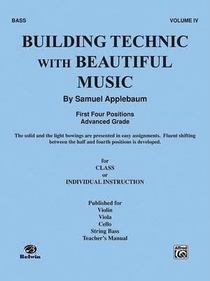 Building Technic with Beautiful Music, Bk 4: Bass