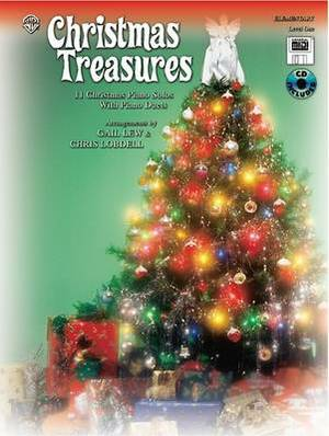 Christmas Treasures: 11 Christmas Piano Solos with Piano Duets (Level 1), Book, CD & General MIDI Disk