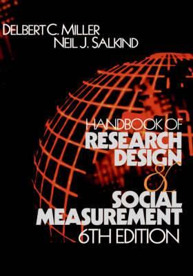 Handbook of Research Design and Social Measurement