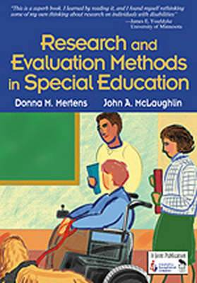 Research and Evaluation Methods in Special Education